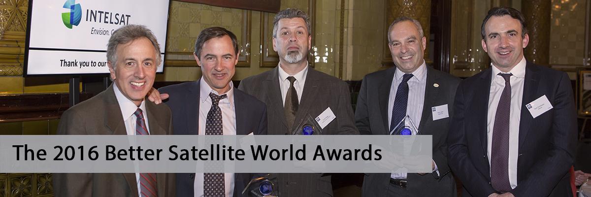 DigitalGlobe, Disaster Tech Lab & GVF Win Better Satellite World Awards