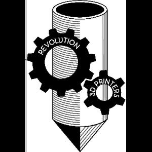 Revolution 3D Printers logo