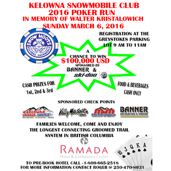Kelowna poker run