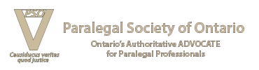 Paralegal Society of Ontario