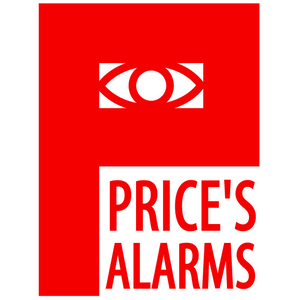 Price's Alarms logo