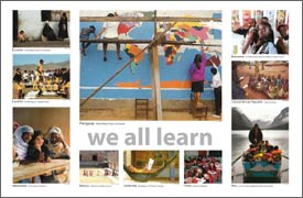 We all learn poster