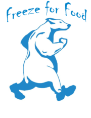 Freeze for Food polar bear logo