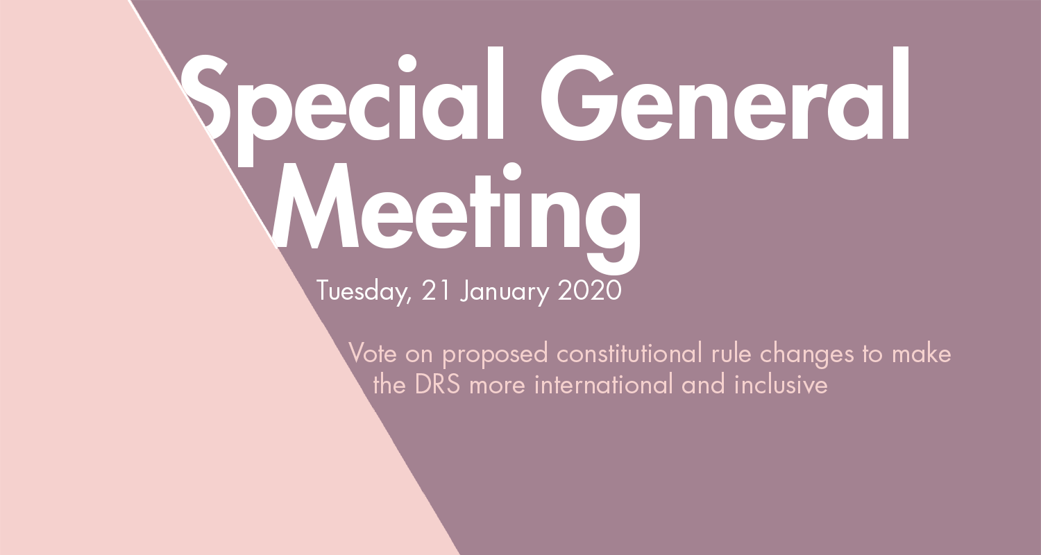 Special General Meeting of the Design Research Society