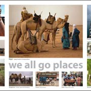 We all go places poster