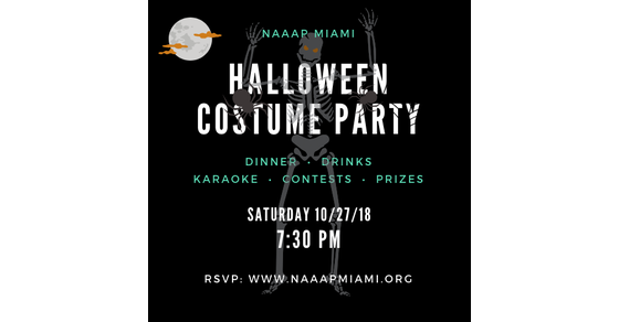 🎉🎃🎁🎙 2020 Halloween Costume Party, October 27 NAAAP Miami | 🎉🎃🎁🎙 2018 Halloween Costume Party