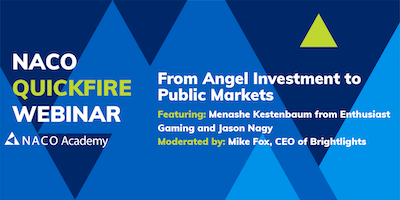 From Angel Investment to Public Markets Thumbnail