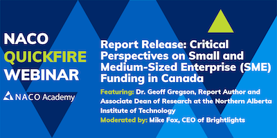 Report Release: Critical Perspectives on Small and Medium-Sized Enterprise (SME) Funding in Canada