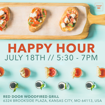 NAAAP Kansas City | Happy Hour at Red Door Grill (Brookside)
