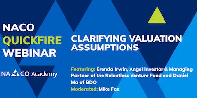 Clarifying Valuation Assumptions