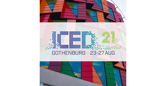 Design Research Society International Conference Of Engineering Design Iced21 Gothenburg Sweden