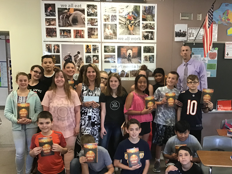 Les Paul Middle School, Waukesha, WI - Global Read Aloud Program Students