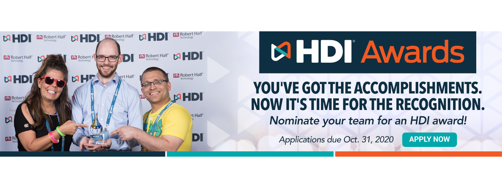 HDI 2020 Award nominations are now open.  Click here for more.