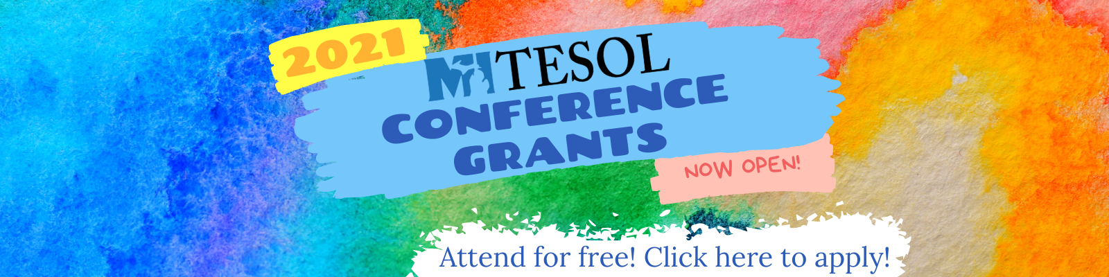 Click here to apply for a 2021 MITESOL Conference Grant today!