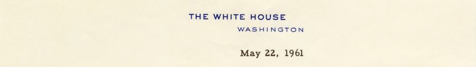 White House stationery