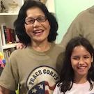 Champa Jarmul and granddaughter