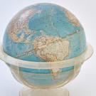 1961 Globe - western hemisphere