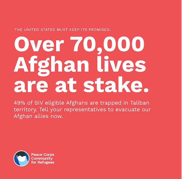 Over 70000 Afghan lives are at stake
