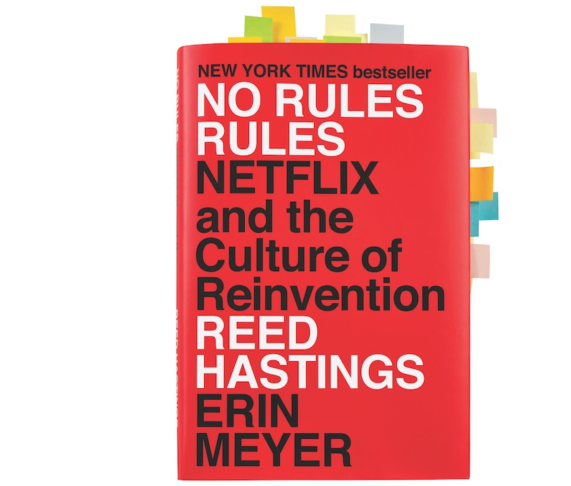 No Rules Rules book jacket