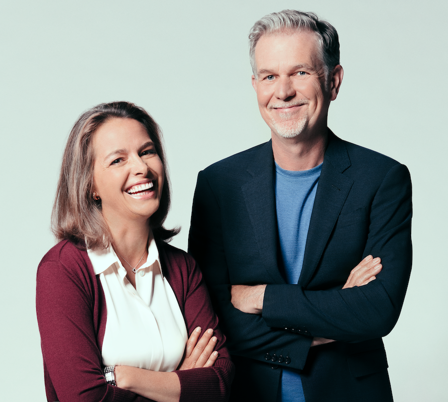 Erin Meyer and Reed Hastings