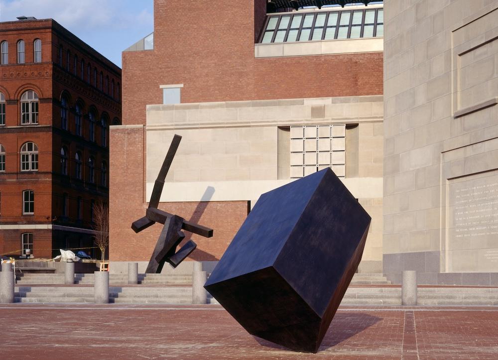 Loss and Regeneration, sculpture by Joel Shapiro