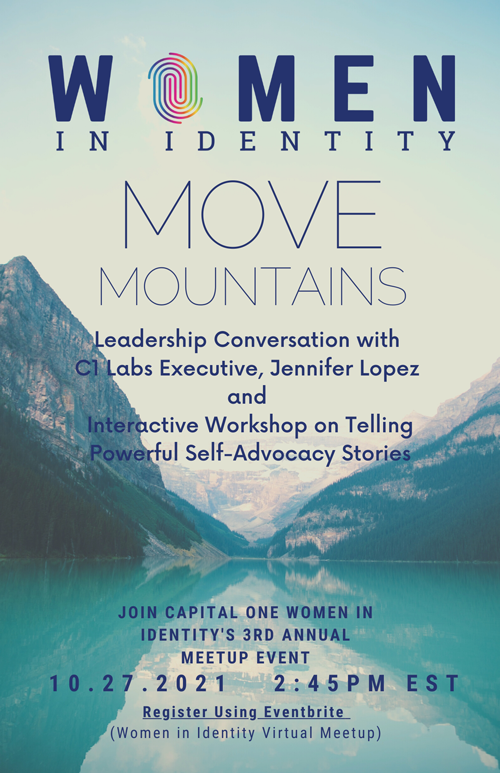 Flyer for Capital One event