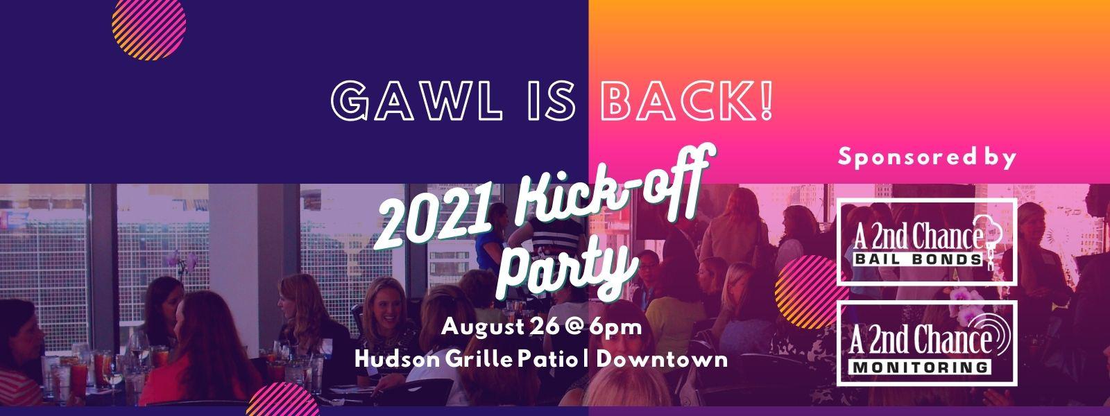 2021 GAWL Kick-off Party!