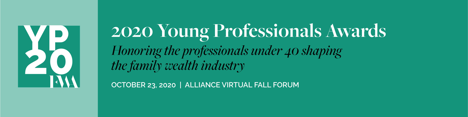 Alliance Young Professionals Under 40 Awards