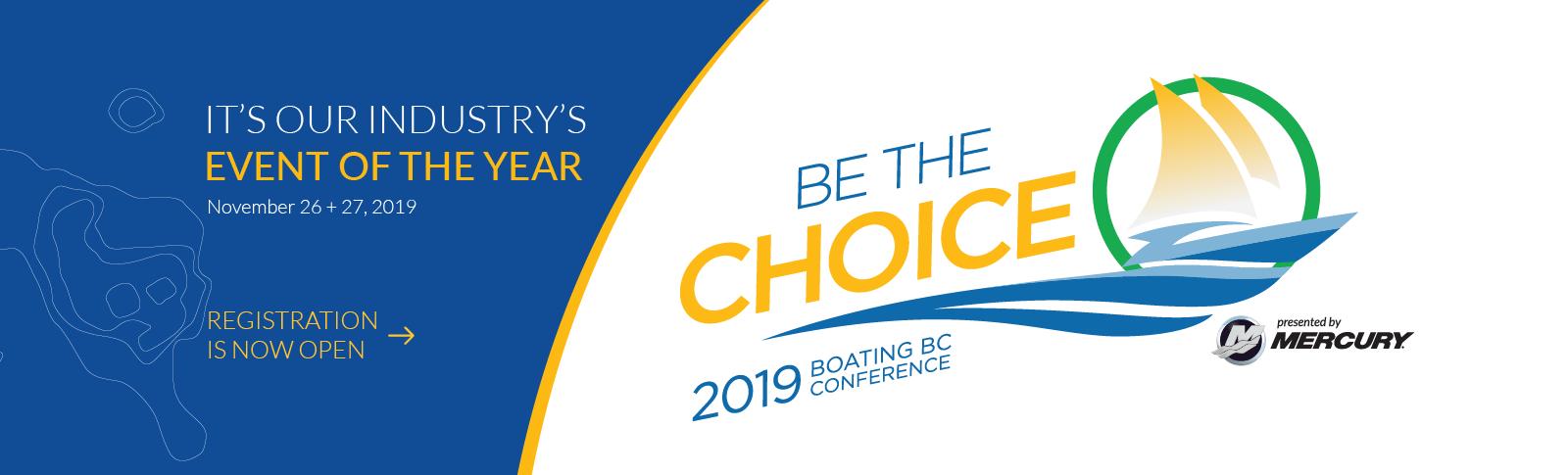 2019 Boating BC Conference, Boating Conference, Boating in BC