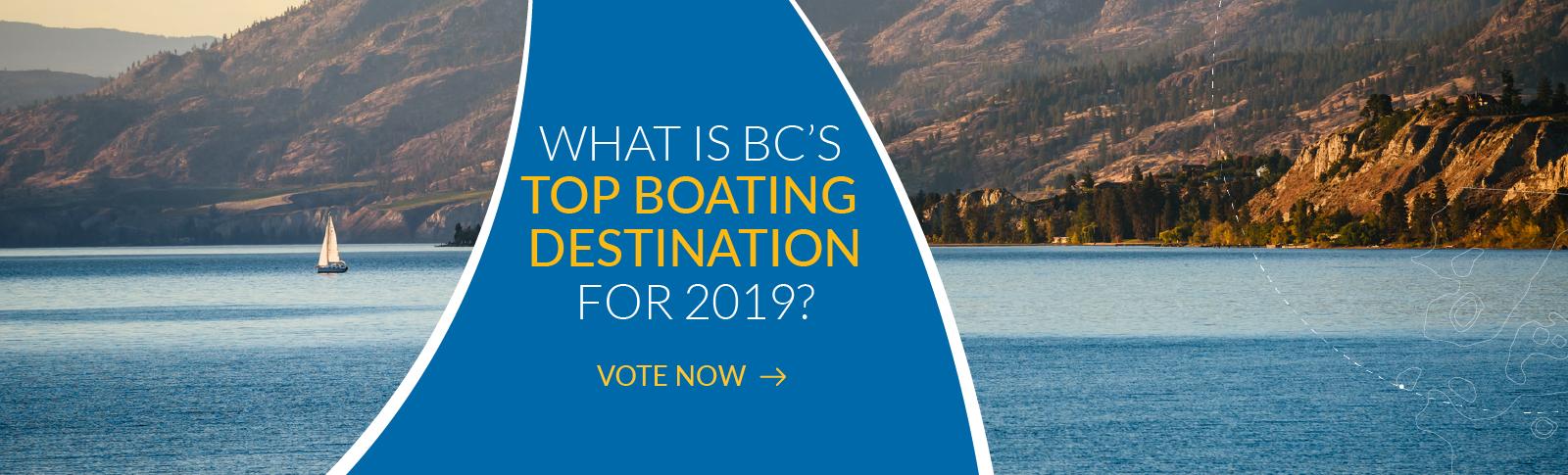 BC Top Boating Destination, BC Boating Destination, Boating Destination