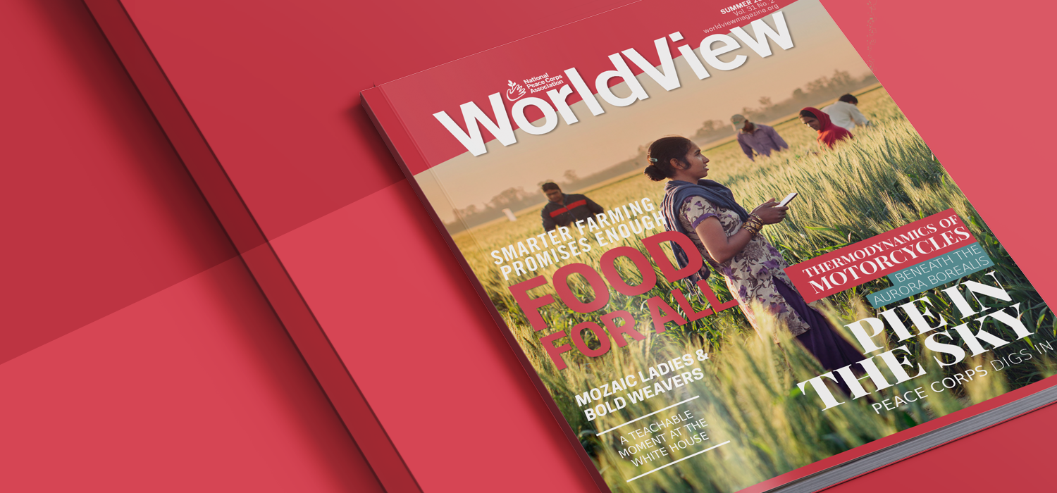WorldView Magazine Peace Corps