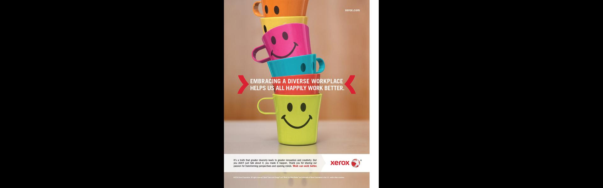 Xerox Diversity Ad