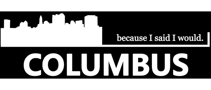 Because I said I would. Columbus