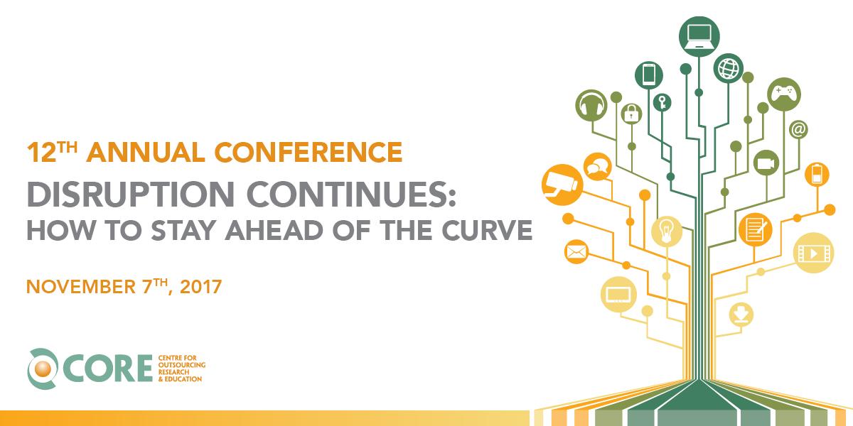 disruption continues 12th annual conference