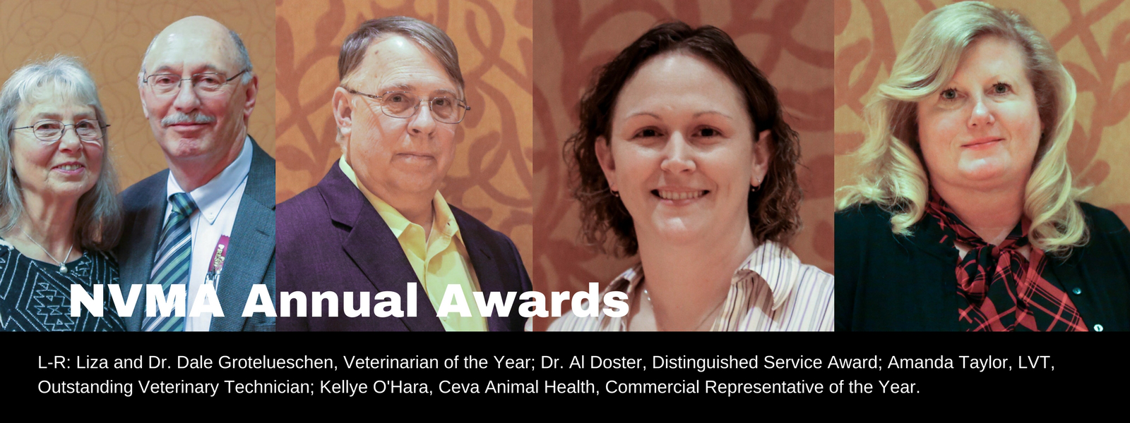 NVMA Annual Awards honorees.