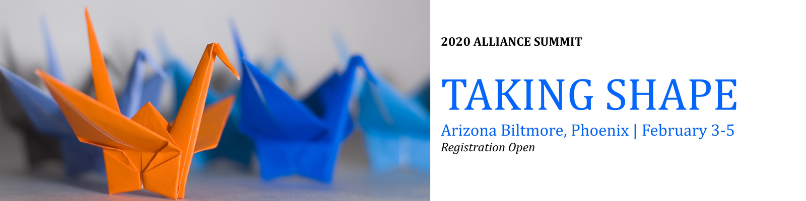 Registration Open - 10th Annual Alliance Summit Feb 3-5 2020 at the Phoenix, Arizona Biltmore