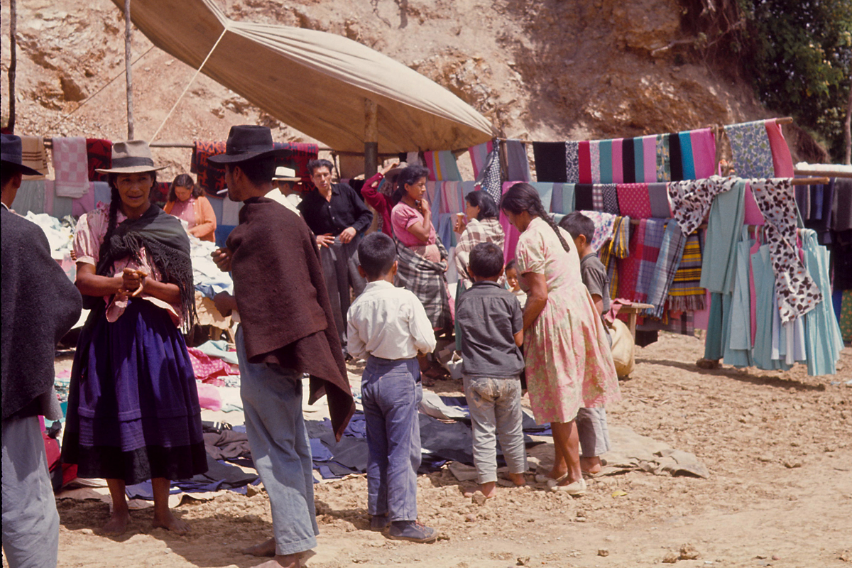 Weekly market - Nrino, Colombia 1964