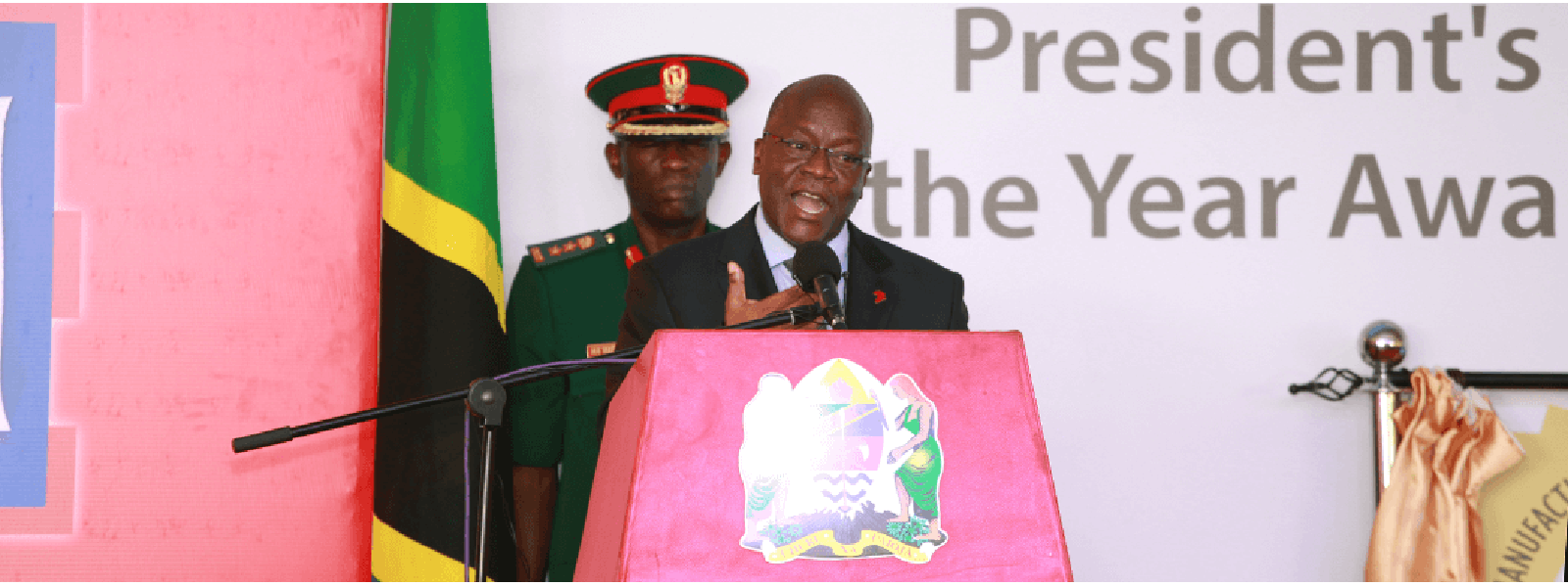 His Excellency Dr. John Pombe Magufuli, President of United Republic of Tanzania and Patron of CTI